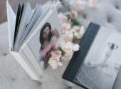 Boudoir heirloom album