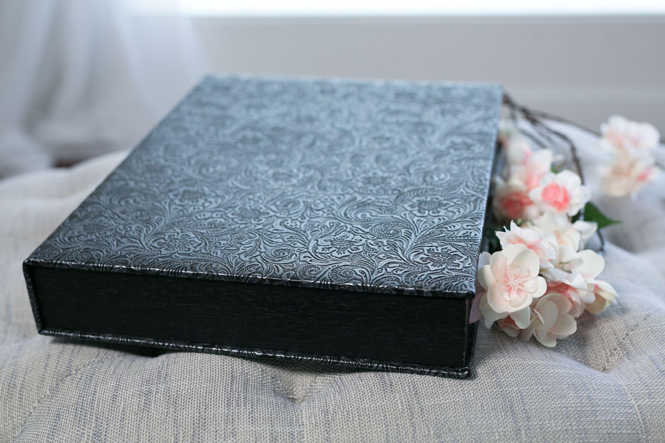 Boudoir Signature Album, Folio & Box